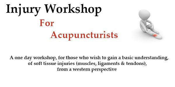 Injury Workshop for Acupuncturists